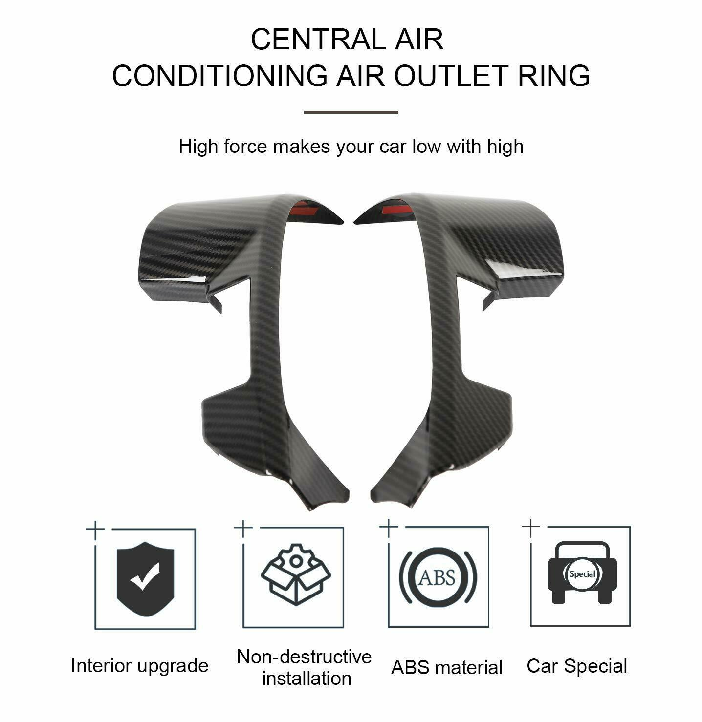 Seat Belt Buckle Cover Trim For Ford 15-17 Mustang F150 Compass Cherokee 2017 L