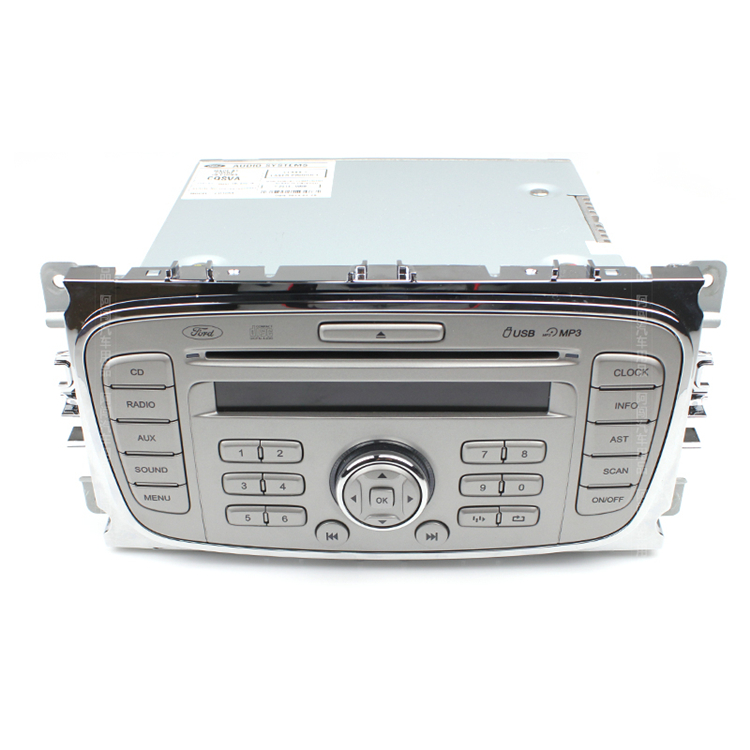 ford autoradio 6000 cd s c max mondeo fokus galaxy. Black Bedroom Furniture Sets. Home Design Ideas