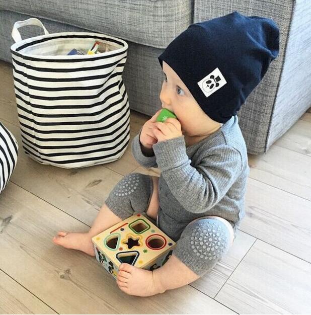 Jungen und Mädchen Baby Kleinkind Knieschoner für das erste Krabbeln und Laufen