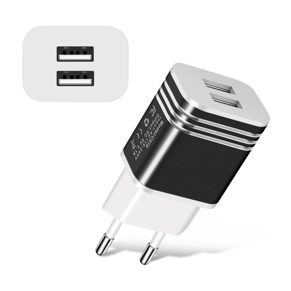 Universal 2usb Eu Plug Fast Charger Phone Wall Travel Adapter For Mobile Circuit Diagram Iphone Samsung