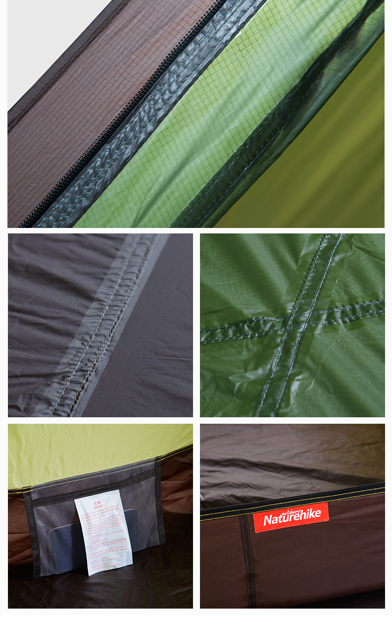 Tent fly material 20d nylon ripsto. Tent fly waterproof PU coated  4000mm. Inner tent material  20d nylon ripstop. Mesh material b3 polyester mesh & Outdoor 4 Season Camping Tent Rainproof Mountainnering Tent for 2 ...
