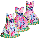 75f00fb6da3ec Details about My Little Pony Kids Girls Princess Dress Summer Party Casual  Sundress Clothes