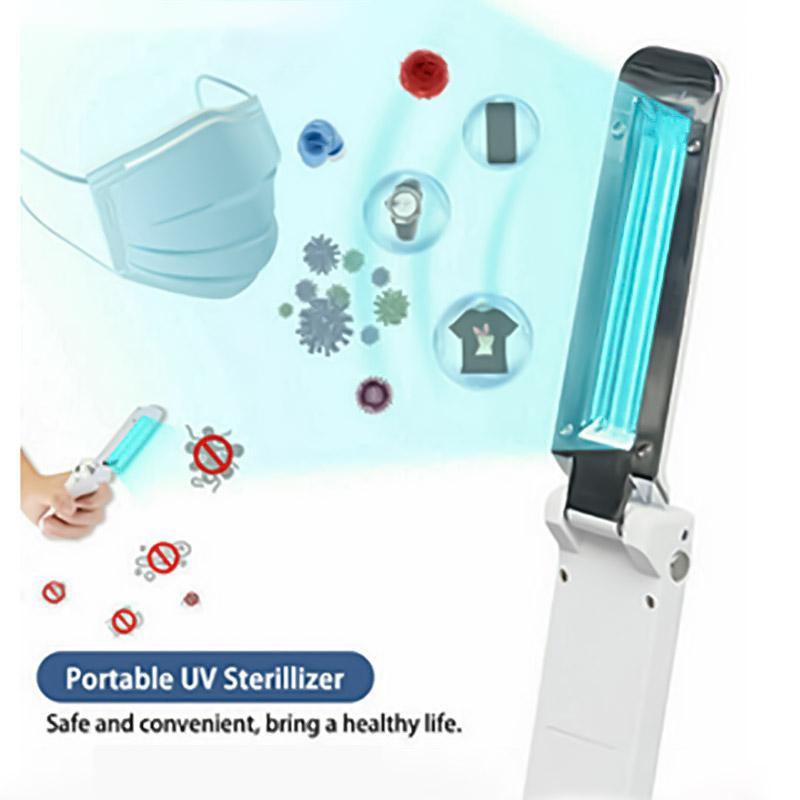 Portable Uv Sterilizer Light Mini Travel Wand Usb Germicidal Lamp