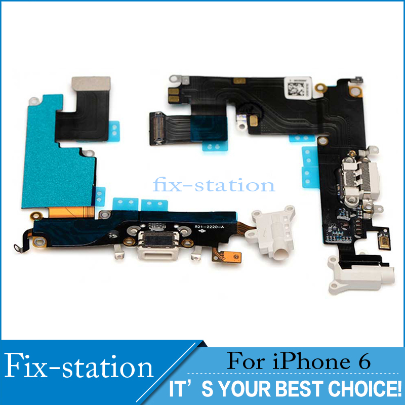 wholesale dealer 61268 31155 Details about For Apple iPhone 6 Charging Port Charger Flex USB Dock  Replacement White