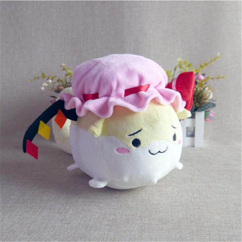 "Cute Touhou Project Sukusuku Hakutaku Flandre Scarlet Plush Doll 14/"" Anime Gift"