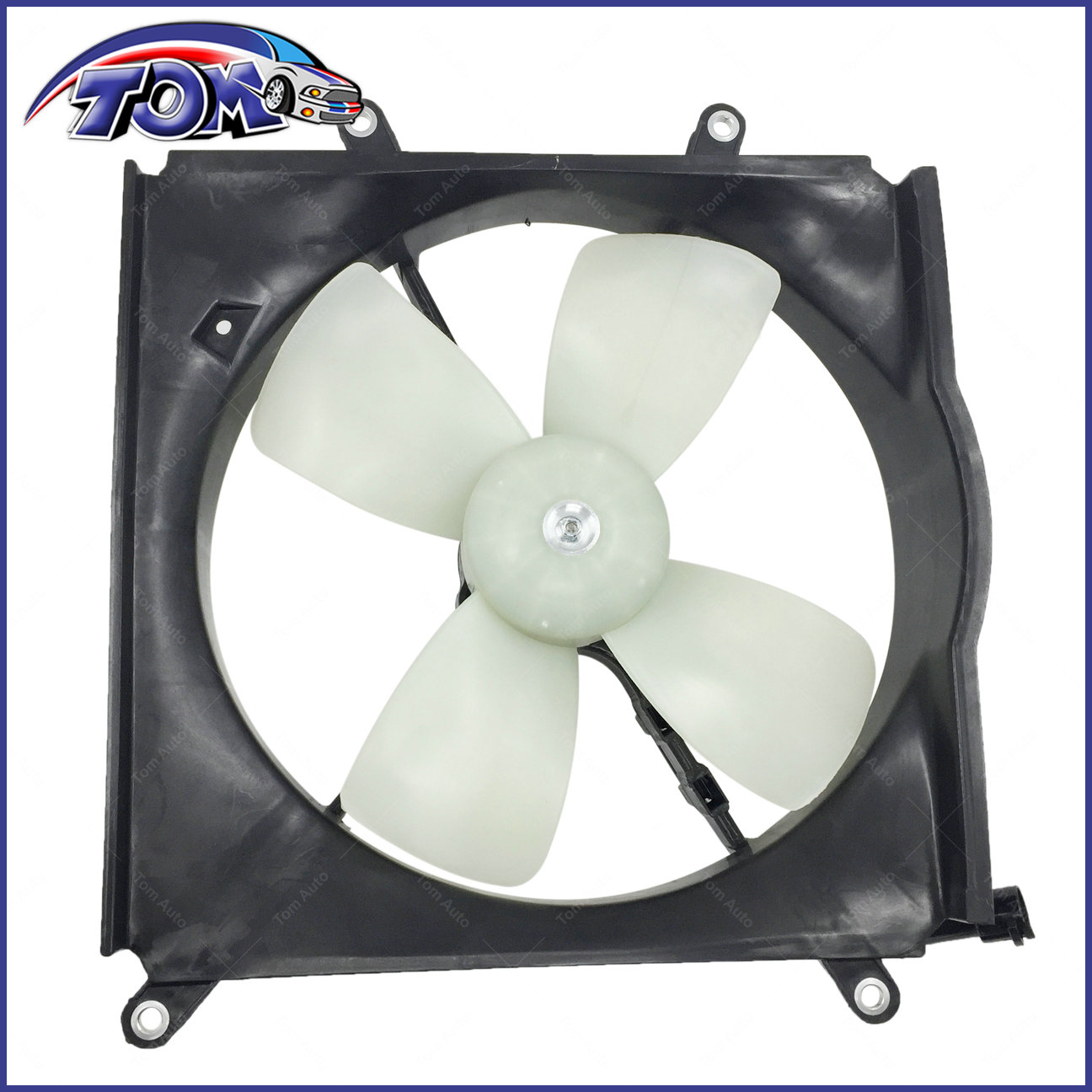 Radiator Cooling Fan Assembly w// Motor for 88-92 Toyota Corolla 89-92 Geo Prizm