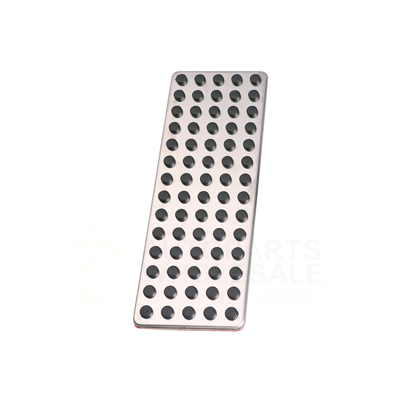 Accessories Footrest Dead Pedal Cover  Fit For Mercedes  W212 W205W213 X253 W166