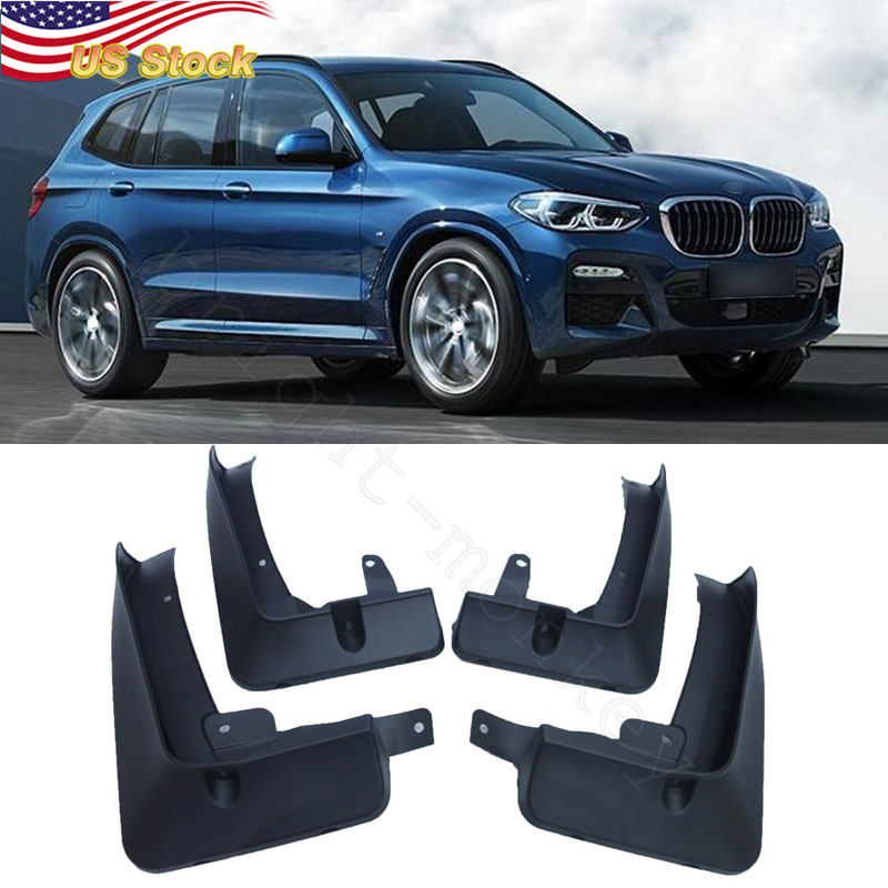 Bmw X3 M Sport >> Details About 4 X Car Mud Flaps Splash Guards Fender Mudguard Fit For 2018 2019 Bmw X3 M Sport