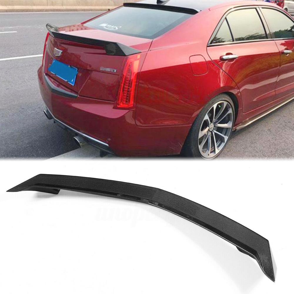 Carbon Fiber Rear High Kick Trunk Spoiler V Style For 13