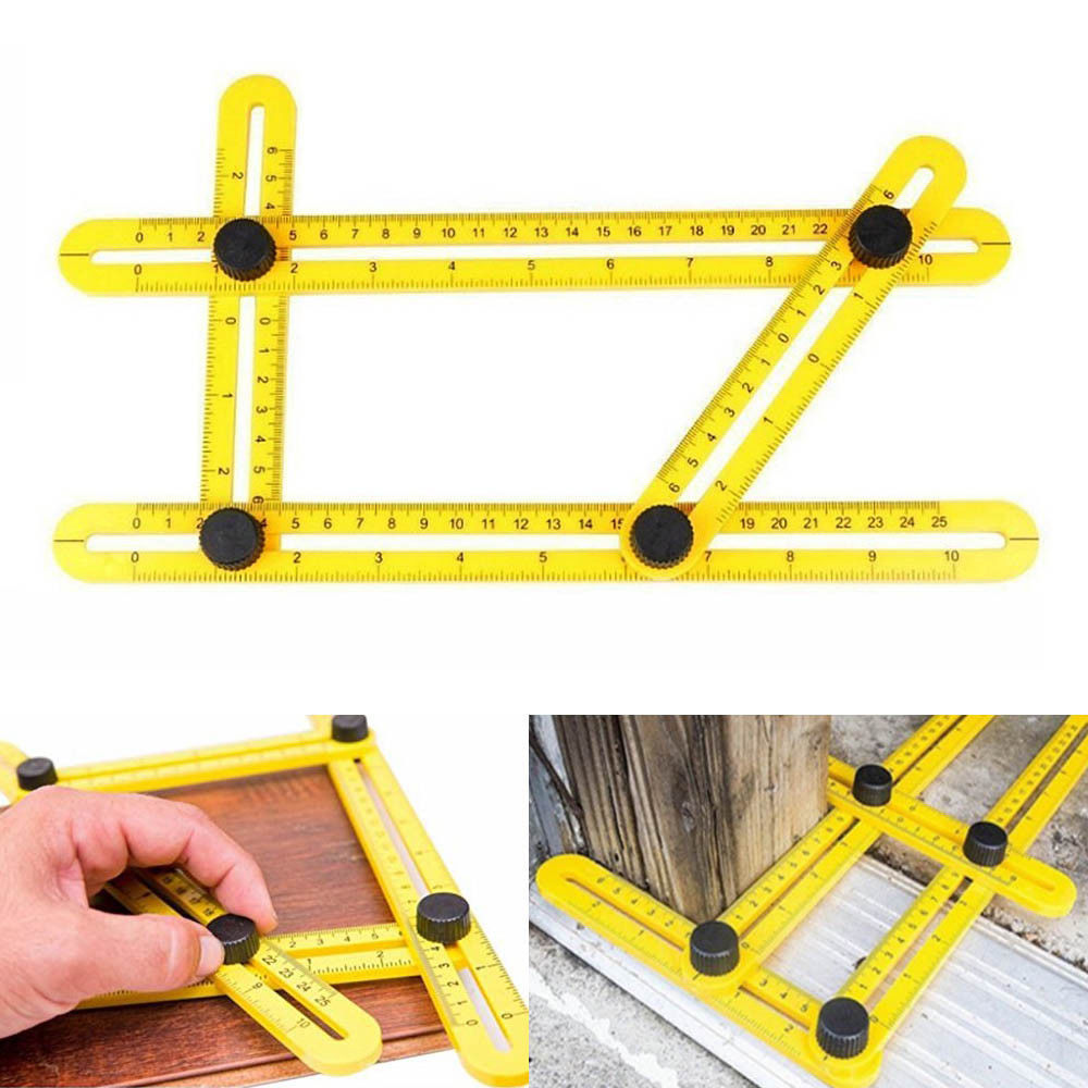 0b48aa54 7380 4dfb 8611 099d9cb6cc1f - Stainless Steel/ ABS Measuring Tools Multi-angle Template Tool Four-sided Ruler