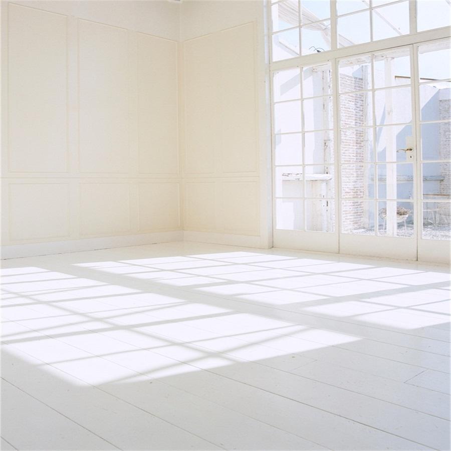Studio Vinyl 6x6ft White Room Scene Photography Background