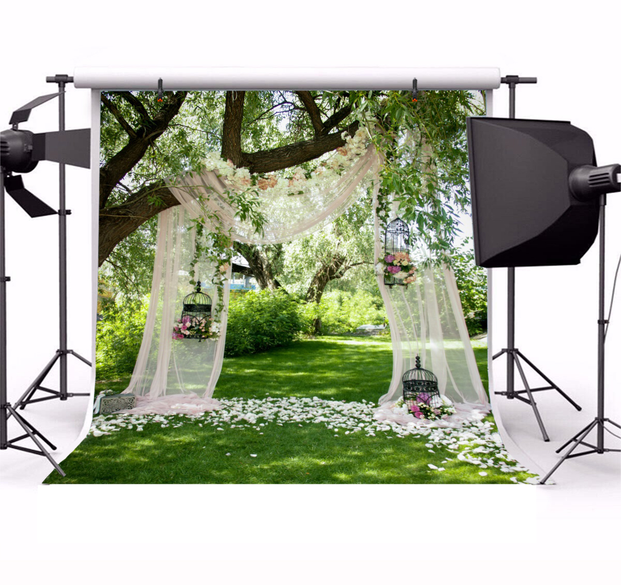 8x8FT Vinyl Photography Backdrop,Kiss,Lovers Near Abstract Tree Photo Background for Photo Booth Studio Props