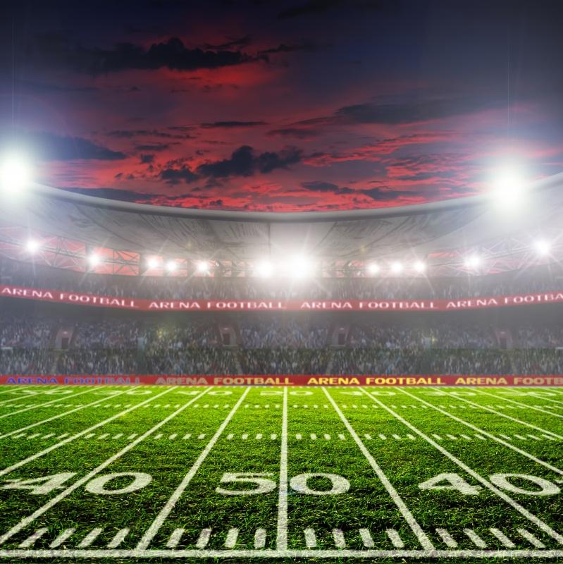 Indoor Football Field Stadium Vinyl 10x10 Photography Background Photo Backdrop Ebay