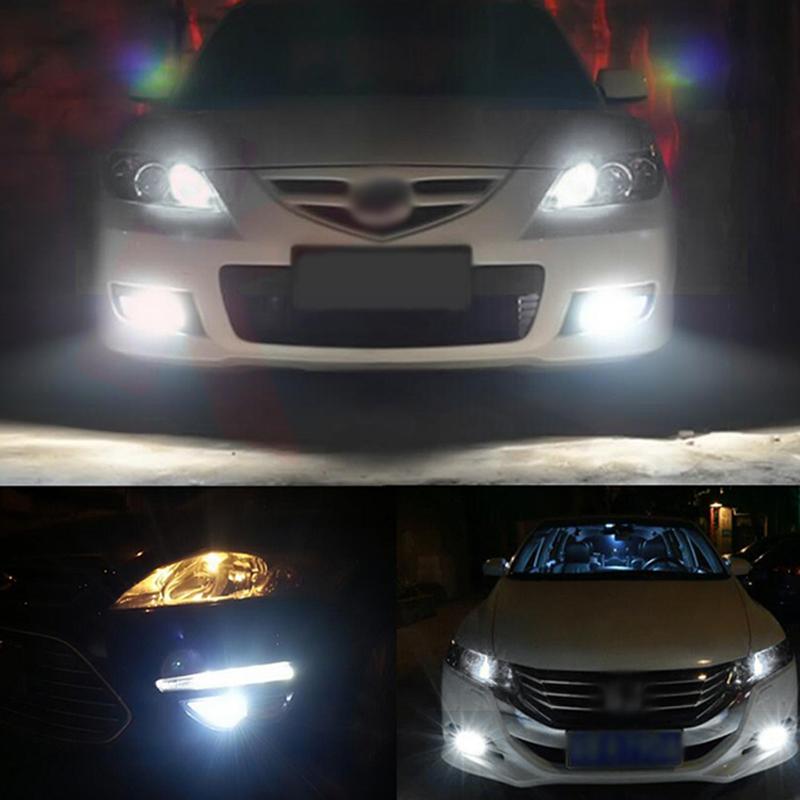 LED Headlight Kit 9006 HB4 6000K Low Beam Bulbs For ACURA