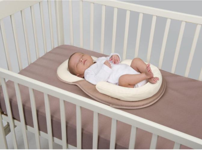 Baby Kopfkissen Babynest Nestchen Matratze Schlafkissen Stützkissen Babykissen