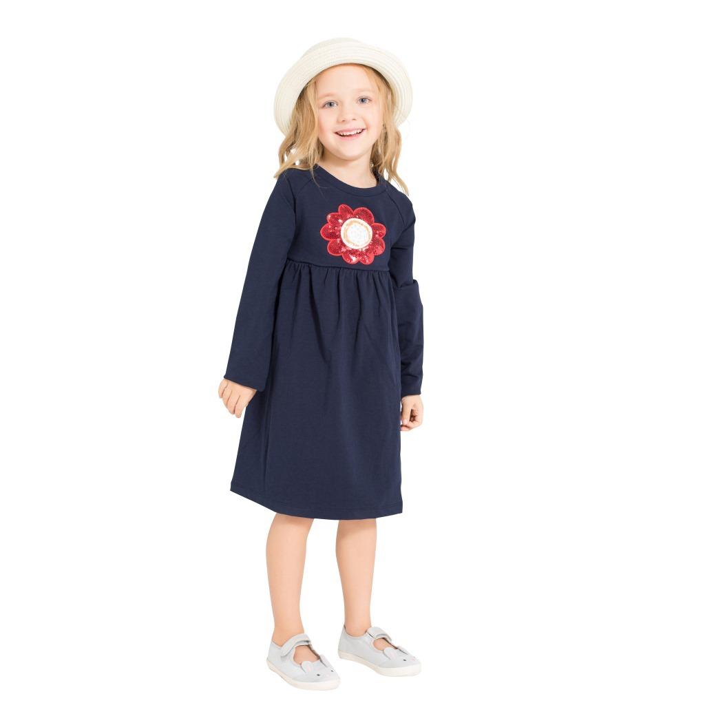 Kinder T-Shirt Mädchen Langarm Baumwolle Kleid Top Tunika ...