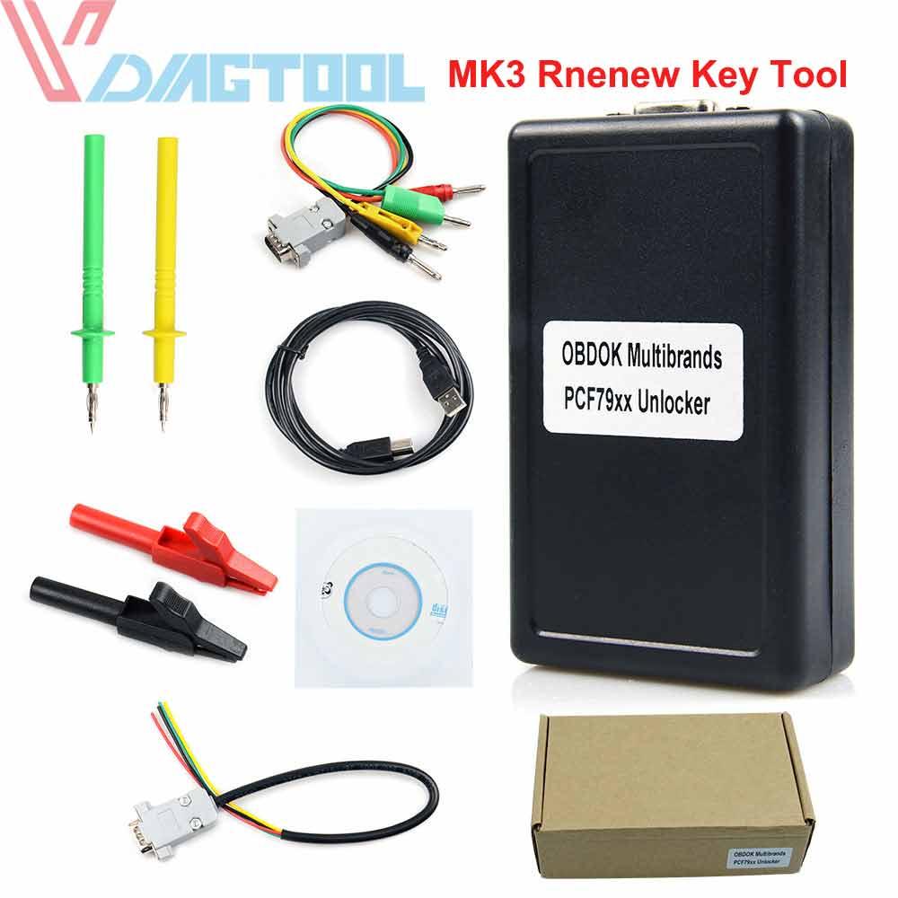 OBD2 MK3 Renew Key Tool 2019 Super Transponder Key Pro-gramming Tool
