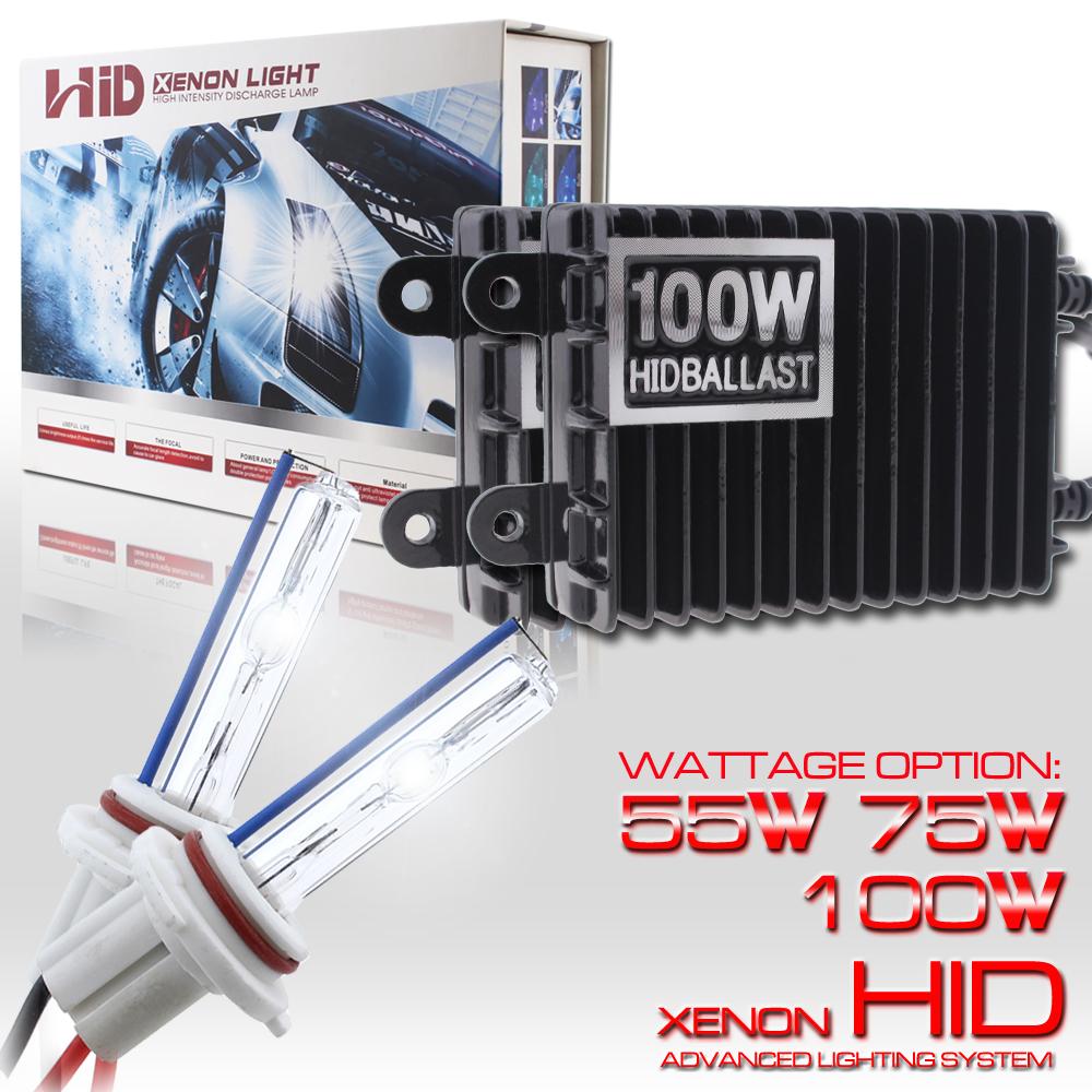 55W 75W 100W HID Xenon Headlight Conversion KIT Bulb Fog Light 9006 HB4 5K 6K 8K