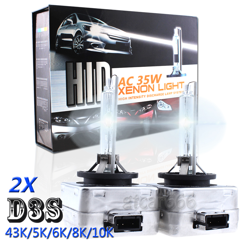 D3s factory HID LED Conversion Kit plug-n-play NEW BRIGHTER THAN HID SHIPS USA
