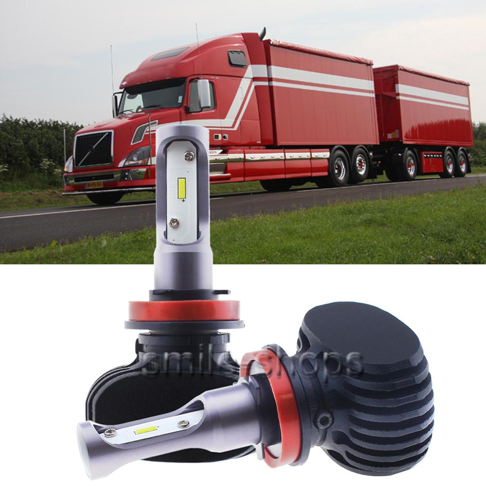 H8 H9 H11 LED Headlight For Volvo 04-15 VN VNL VNM Truck 200 300 430 630 670 730