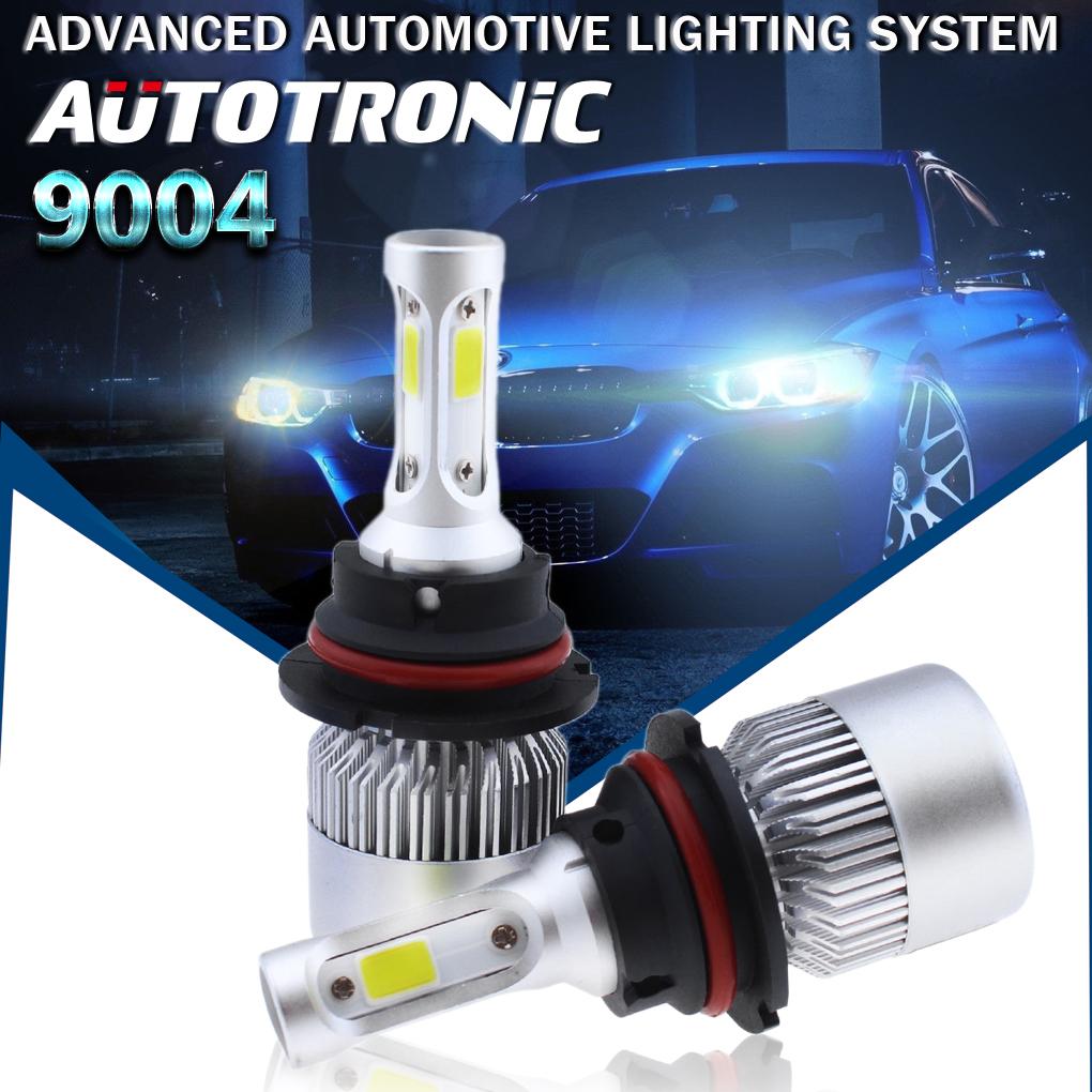 2X HB1 9004 1300W 195000LM LED Headlight Kit Hi//Lo Power Bulbs 6000K White Light