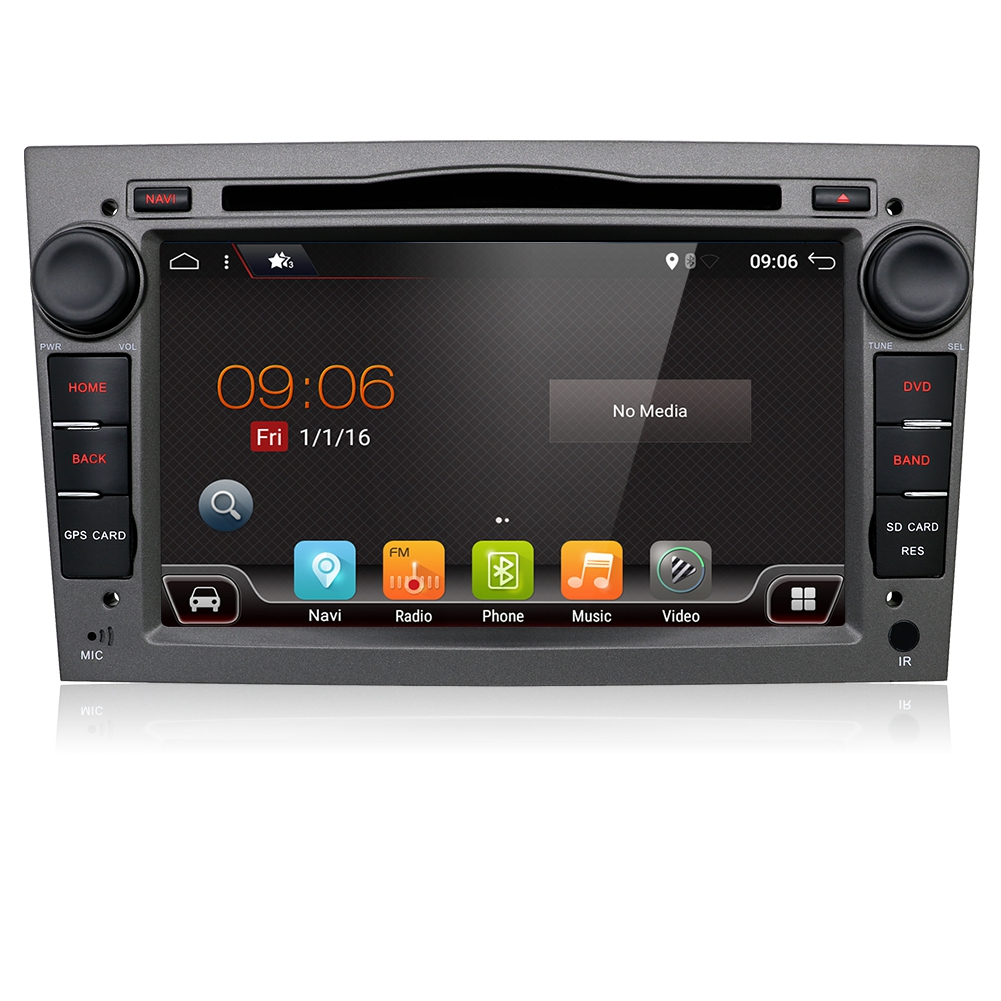 autoradio gps dvd navi bt aux for opel zafira b astra. Black Bedroom Furniture Sets. Home Design Ideas