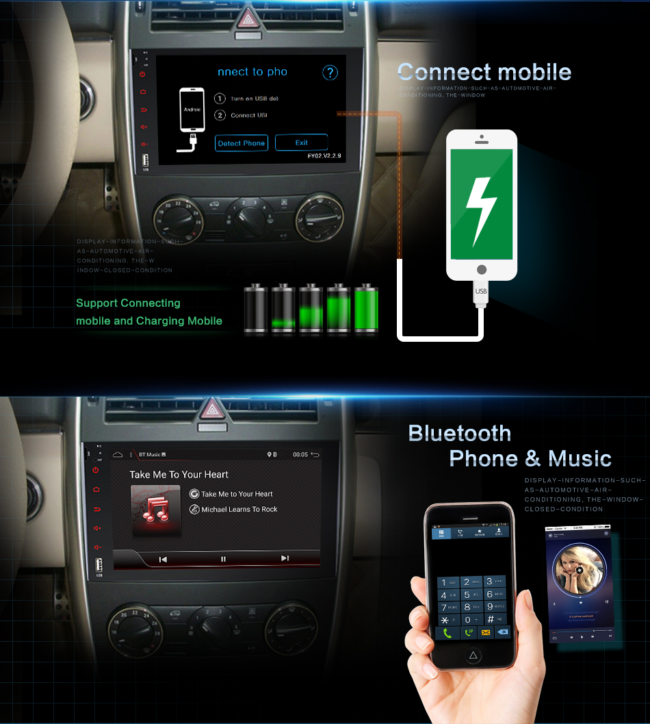 9 autoradio gps navi ips wifi usb f r mercedes benz w447. Black Bedroom Furniture Sets. Home Design Ideas