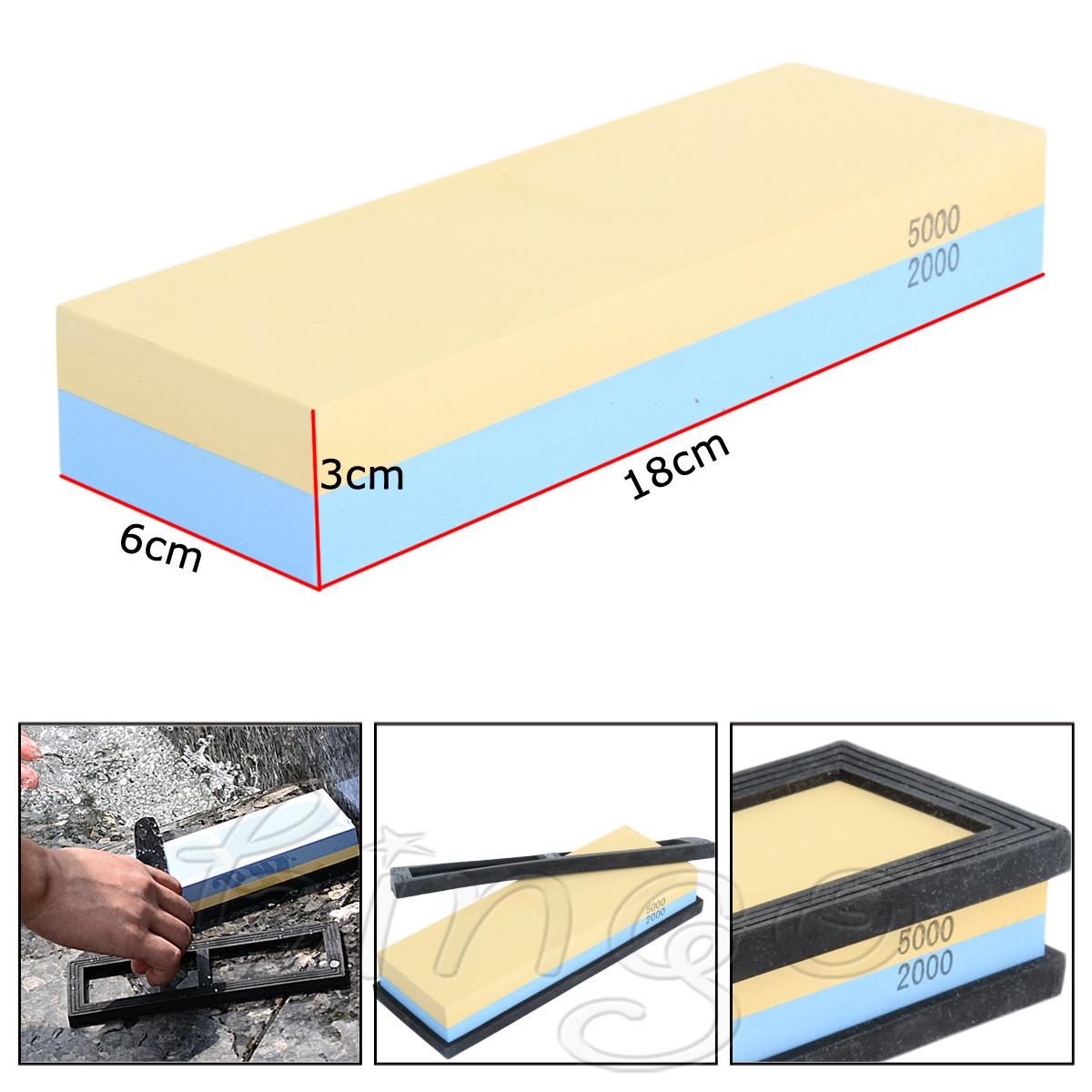Grit Sharpening Water Stone Dual Knife Whetstone 2000/5000 3000/8000 1000/3000