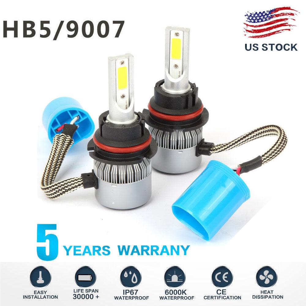 9007 HB5 LED 1500W 225000LM Headlight Conversion Kit White 6000K HI//LO BEAM