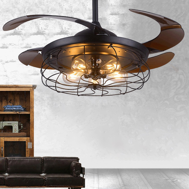 Industrial 42 Quot Indoor Ceiling Fan Reversible Flush Mount