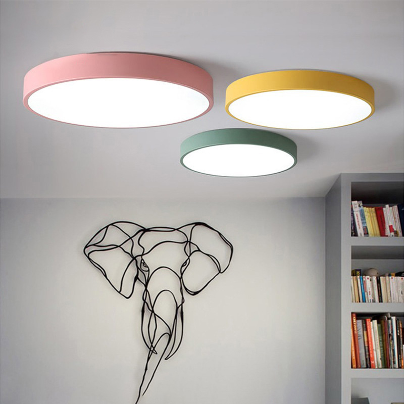 Dimmable Led Ceiling Lamp Flush Mount