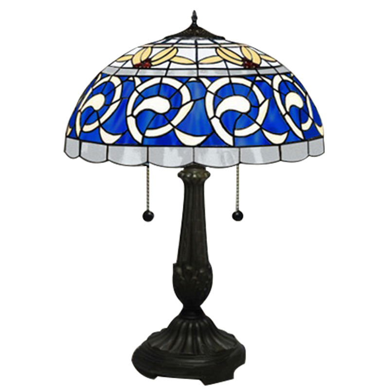 Details About Tiffany Style Table Lamp Stained Gl Desk Art Deco Mission Craftsman Victorian