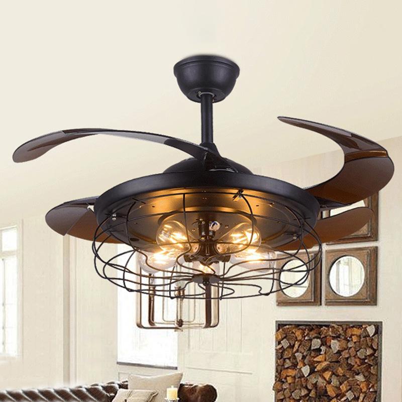 Industrial 42 Quot Indoor Ceiling Fan Reversible Flush Mount