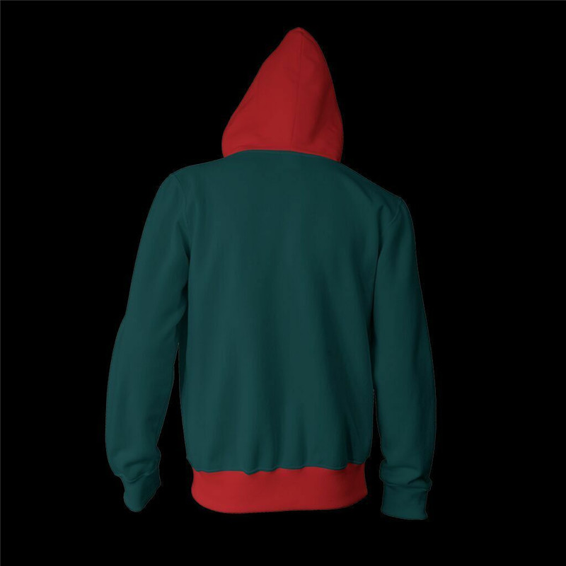 Into the Spider-Verse Miles Hoodie Morales Coat Sweatshirts~ Cosplay Spiderman