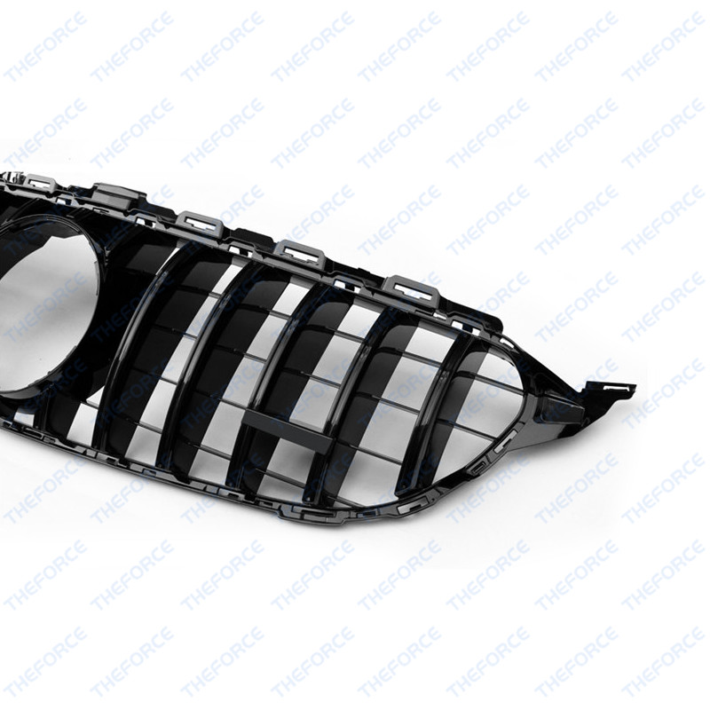 Front Grille Vent Fit For Mercedes Benz B B200 B Class: Front Vent Silver Grille Grill Fit For Mercedes-Benz C