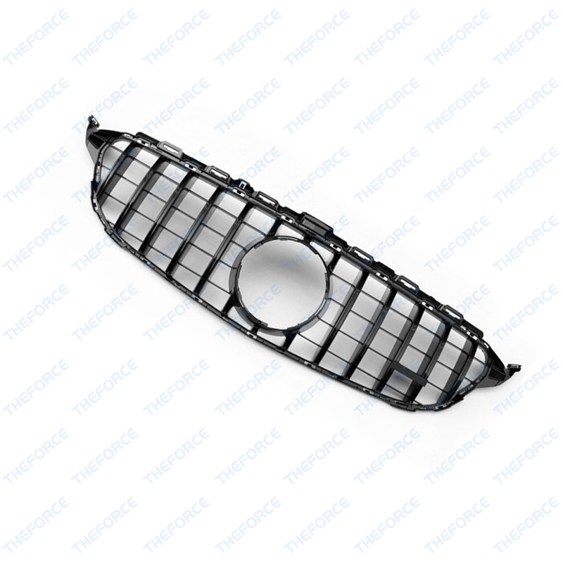 Front Grille Vent Fit For Mercedes Benz B B200 B Class: Front Vent Black GT R Grille Grill Fit For Mercedes C