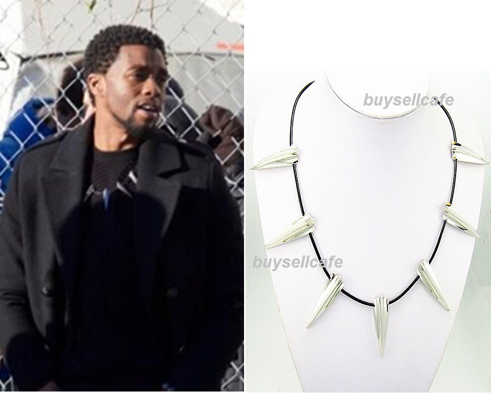 Marvel Avengers Black Panther Claw Necklace Wakanda T