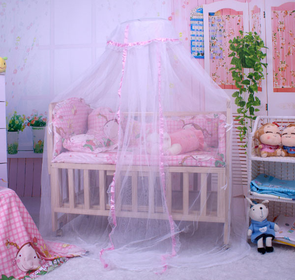 Baby Crib Dome Mosquito Netting Nursery Boys Girls Lace Bed Canopy without Stand & Baby Crib Dome Mosquito Netting Nursery Boys Girls Lace Bed Canopy ...