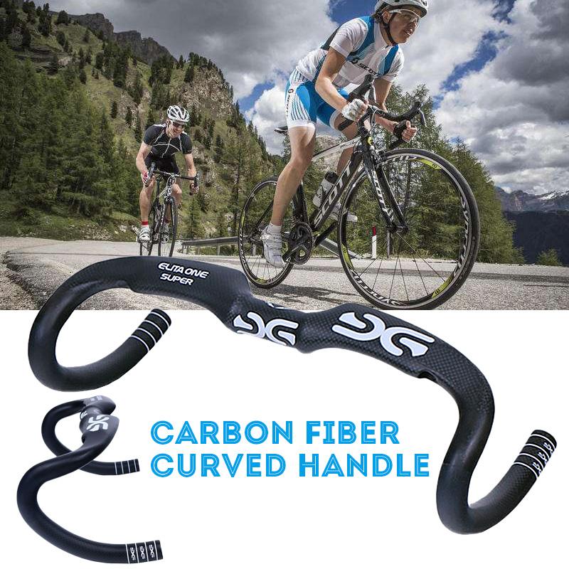 Carbon Fiber Mtb Road Bike Bicycle Cycling Drop Bar Handlebar 31 8