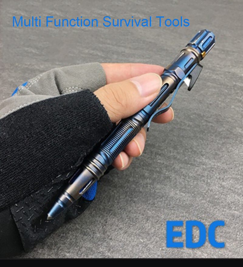 Outdoor Self Survival EDC Stainless Steel Emergency MultifunctionTool Opener TPD