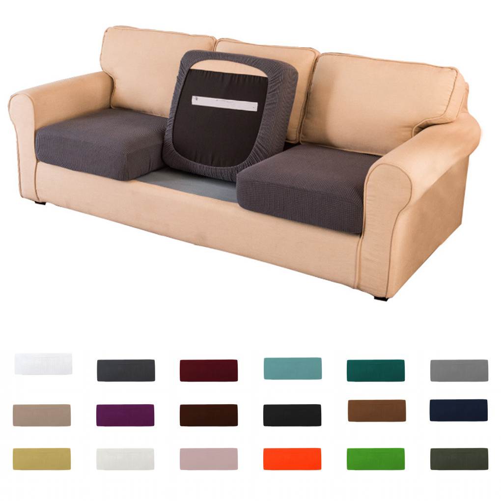 Modern Furniture Full Cover Sofa Seat Cushion Cover Chair Couch Full  Slipcovers  eBay