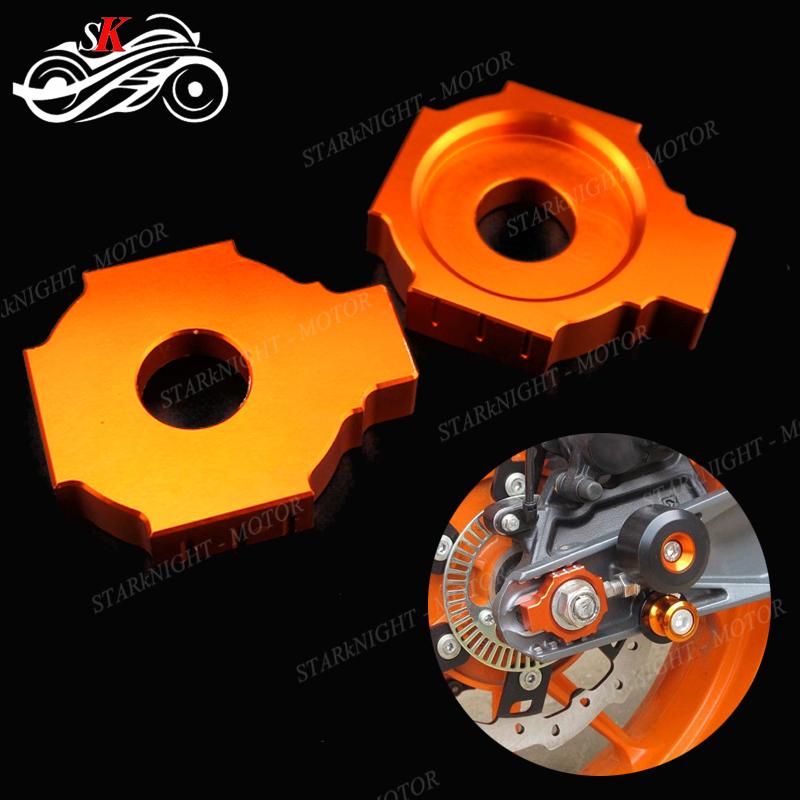 -OR19 2013-2019 NEW CNC REAR AXLE BLOCK KTM 125 150 250 350 450 SX SXF XCF