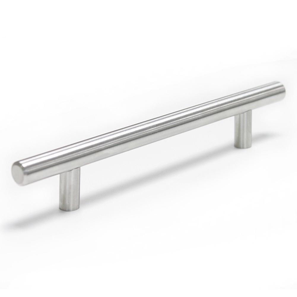 Kitchen Cabinet Door Cupboard Handles Stainless Steel T Bar Drawer Pulls Knobs