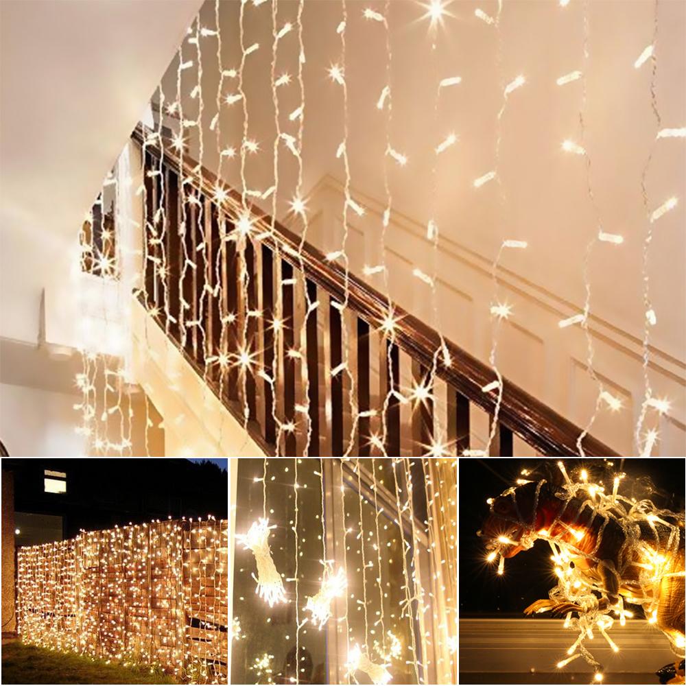 led lichterkette weihnachten innen au en beleuchtung party garten gl hlampe deko ebay. Black Bedroom Furniture Sets. Home Design Ideas