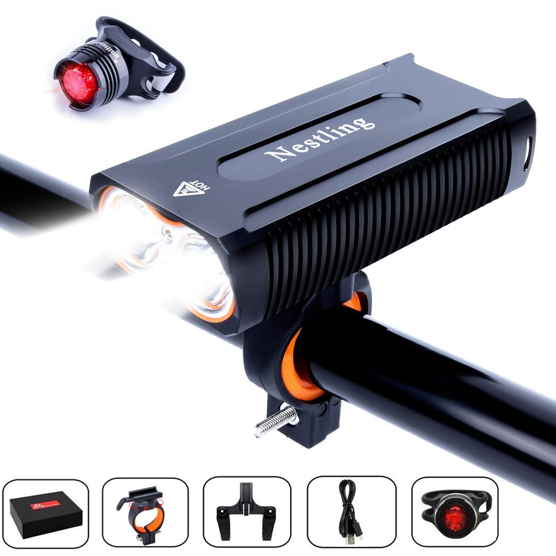 Mini USB Rechargeable XP-G2 LED Flashlight 304SS Waterproof Torch Key Chain