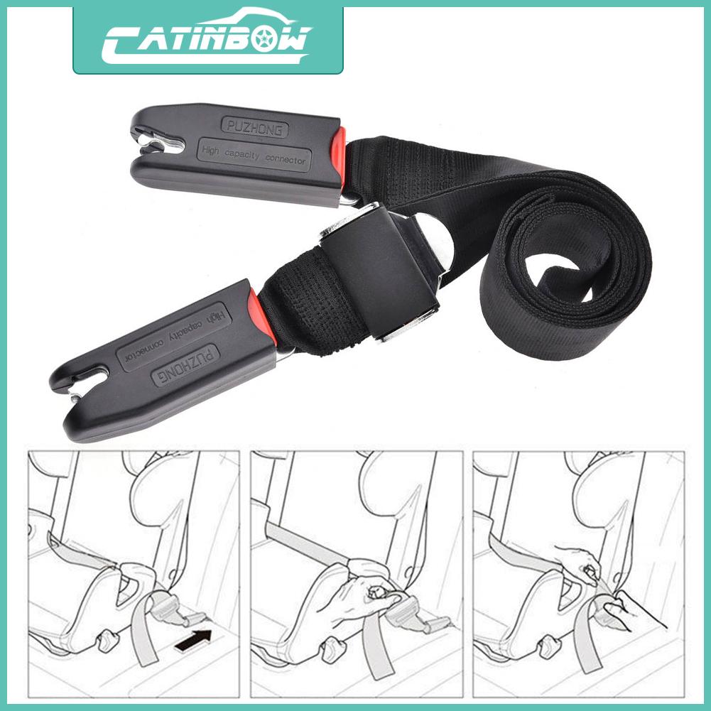 Adjustable Car Kids Child Safe Seat Strap Isofix Latch