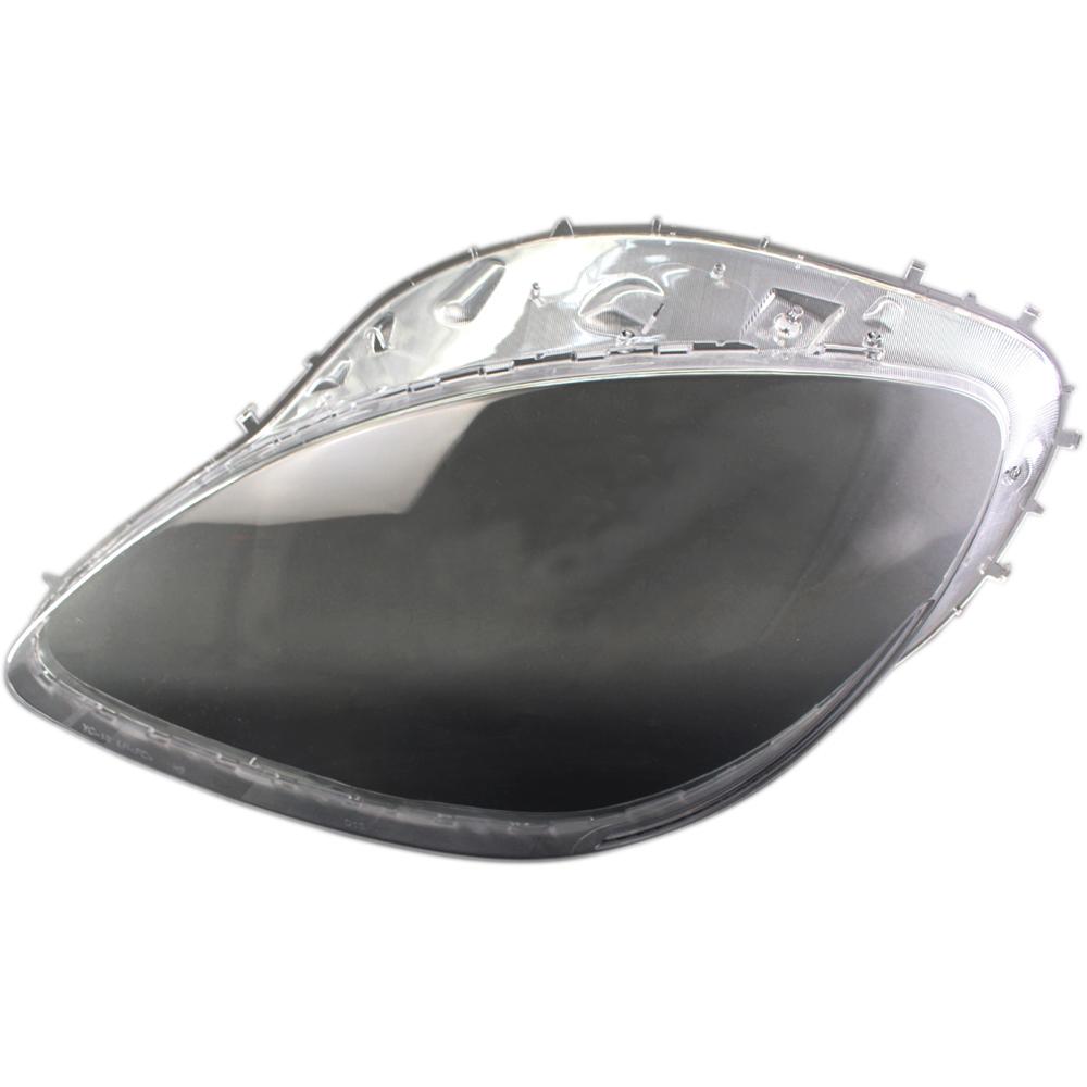For C6 Corvette 2005 2013 Headlight Replacement Lens Driver Passenger Pair