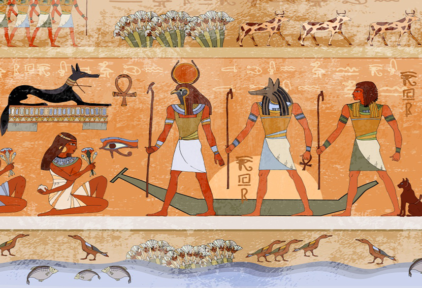 Details about Ancient Egyptian Rowing Backdrop Event Portrait Photography  Background 7x5Ft