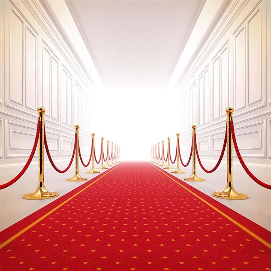 6x6ft Backdrop Vip Red Carpet Ceremony Studio Props