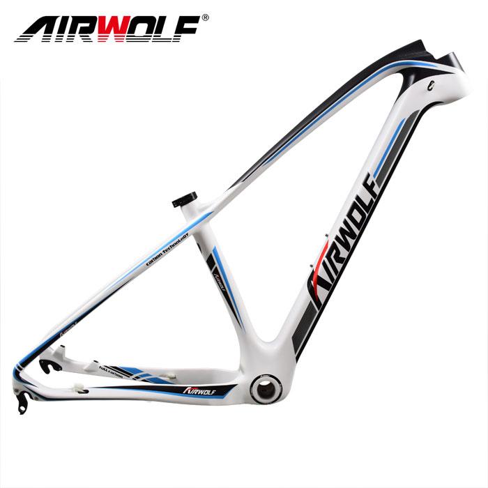 Airwolf Fahrradrahmen 29er/27.5er Mountainbike Carbon Rahmen 15/17 ...
